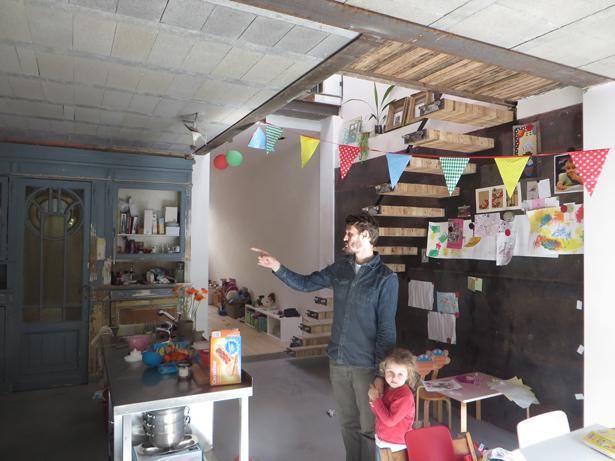 keuken-stalen-wand-trap-metaalschrijnwerk