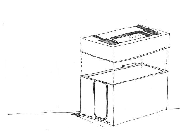 polyester-capsule-sanitair-schets-3d-atelier-Cadix